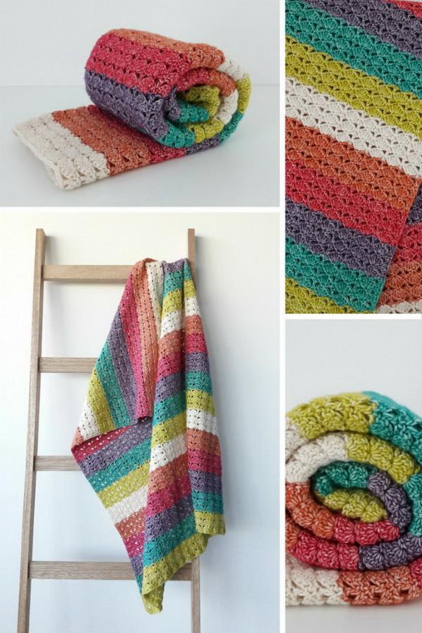 Sea Shell Blanket.