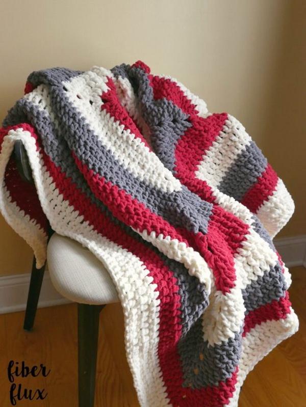 Snow Berries Throw Blanket.