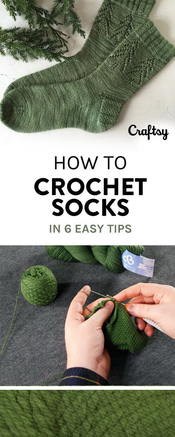 Easy crochet patterns for beginners for creative juice crochet socks these basic crocheted socks are great to make even for beginners it bankloansurffo Gallery