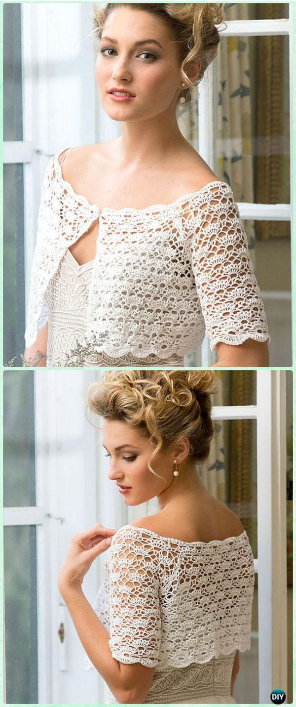 Crochet Women Crop Top. This exquisite crochet topper is beautiful and comfortable and perfect for your wedding day or any other party or occasions.