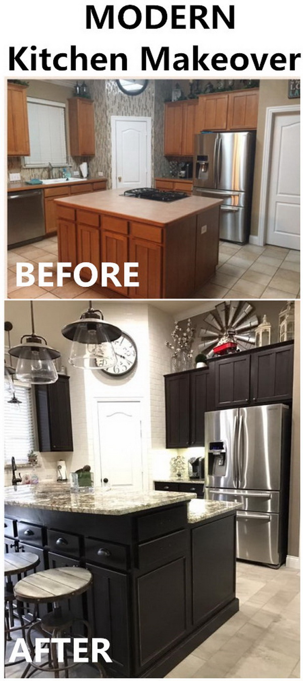 Modern Kitchen Makeover.