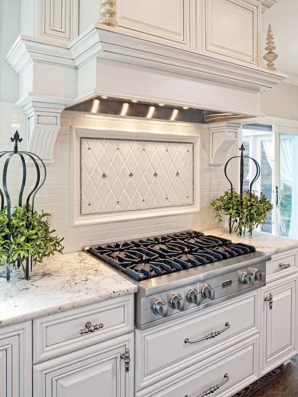 kitchen back splash dornbracht faucet 70 stunning backsplash ideas for creative juice an elaborate complements the room s decor and adds to