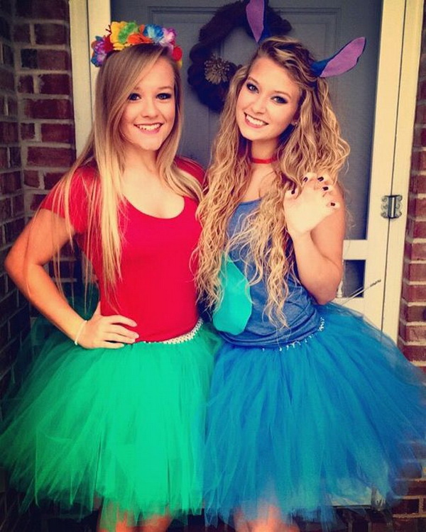 Lilo and stitch costume tutu.