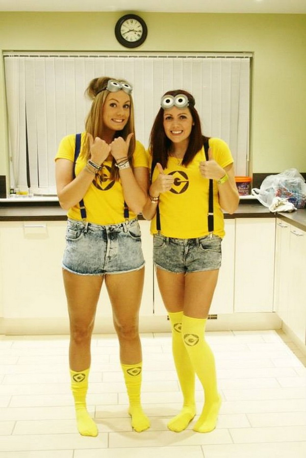 Minions Best friend costumes!