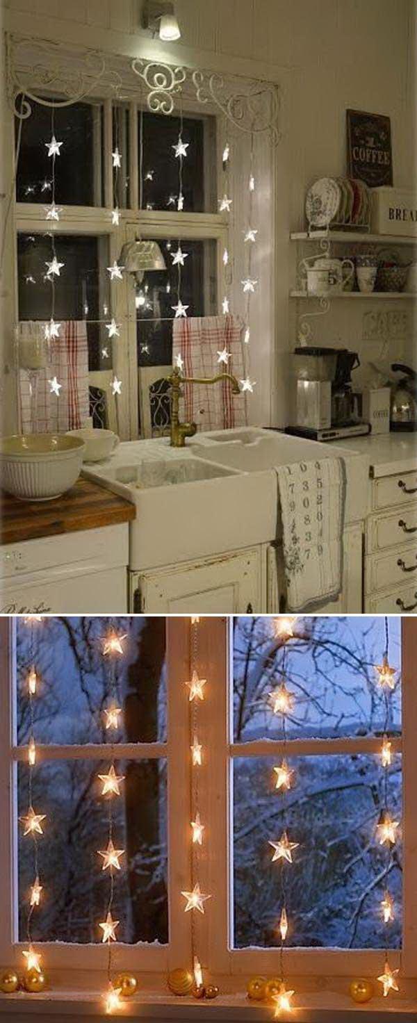 Lighting Decor Ideas. Christmas Lights Window Decor Lighting Ideas S