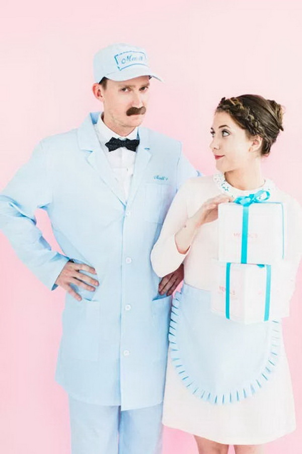 The Grand Budapest Hotel Couple Costumes. Stylish Couple Costumes for Halloween.