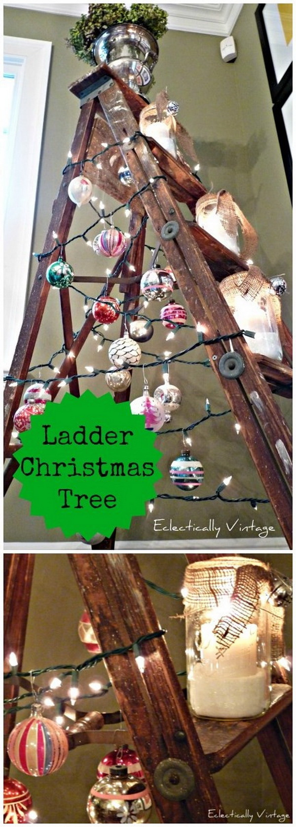 55 Rustic Farmhouse Inspired Diy Christmas Decoration Ideas For Creative Juice