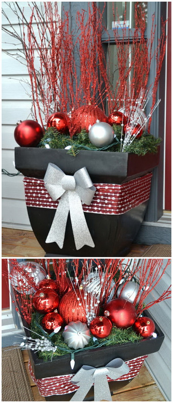 30 Amazing Diy Outdoor Christmas Decoration Ideas For Creative Juice,Funny Names For Boats