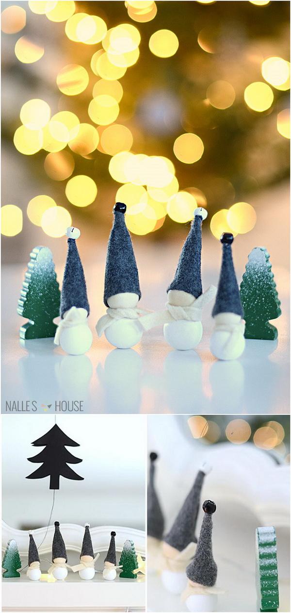 DIY: Aarikka Inspired Jingle Bell Elves.