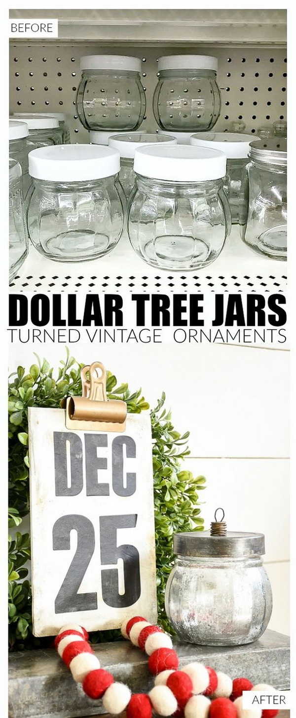 Vintage Inspired Ornament Candy Jars.