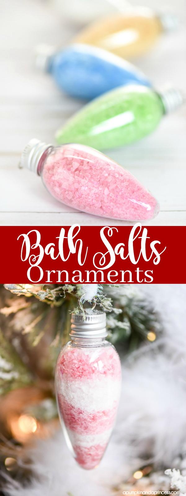 Bath Salts Ornaments.