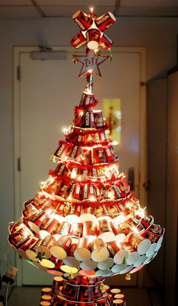 The Most Creative Christmas Tree Ideas for Your Holiday - For ... Clever Christmas Lighting Ideas on clever packaging ideas, clever storage ideas, clever kitchen ideas, clever office ideas, clever garden ideas, clever upholstery ideas, clever food ideas, clever design ideas, clever photography, houses for christmas light ideas, clever bedroom ideas, clever wallpaper ideas, clever staging ideas, clever ideas for the home, clever engineering ideas, clever remodeling ideas, clever cooking ideas, cool ideas, clever bathroom ideas, clever lamp ideas,