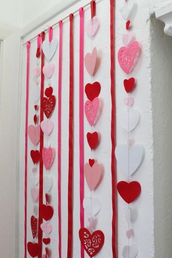 Paper Hearts Backdrop.