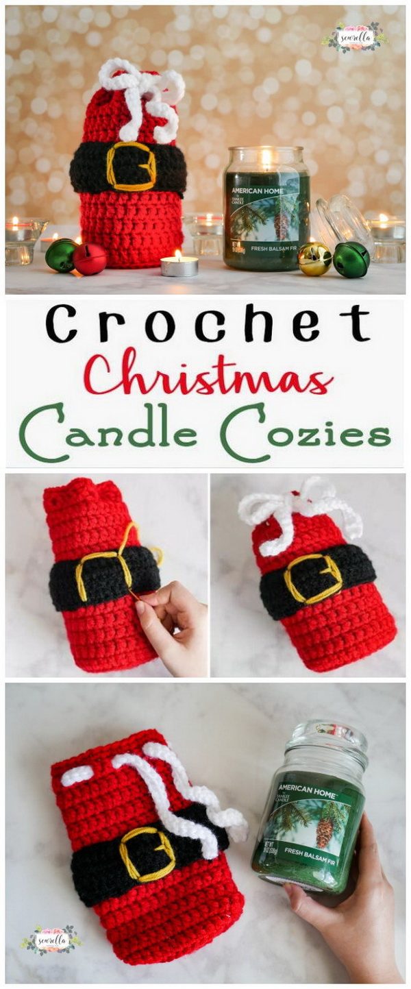 20 Easy Crochet Ornaments And Projects For Christmas For Creative Juice