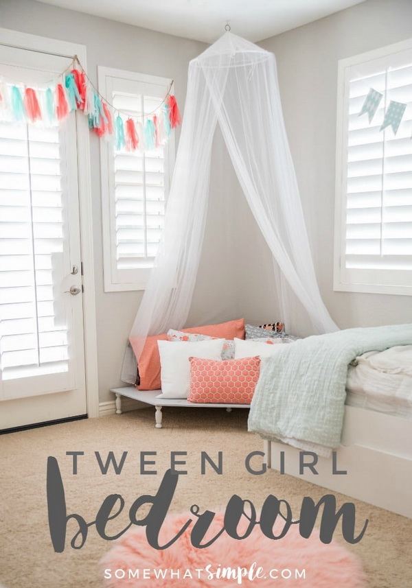 Strange Awesome Tween Girls Bedroom Ideas For Creative Juice Beutiful Home Inspiration Truamahrainfo
