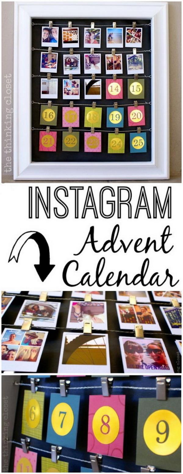 Instagram Advent Calendar.