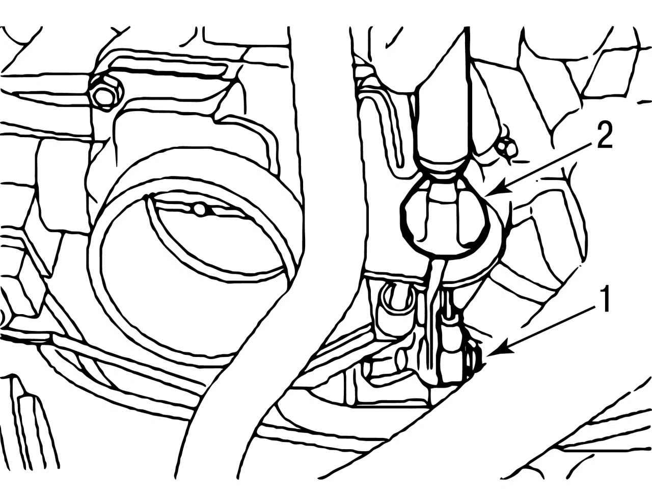 Ford Focus   Снятие двигателя Zetec-SE 1,4