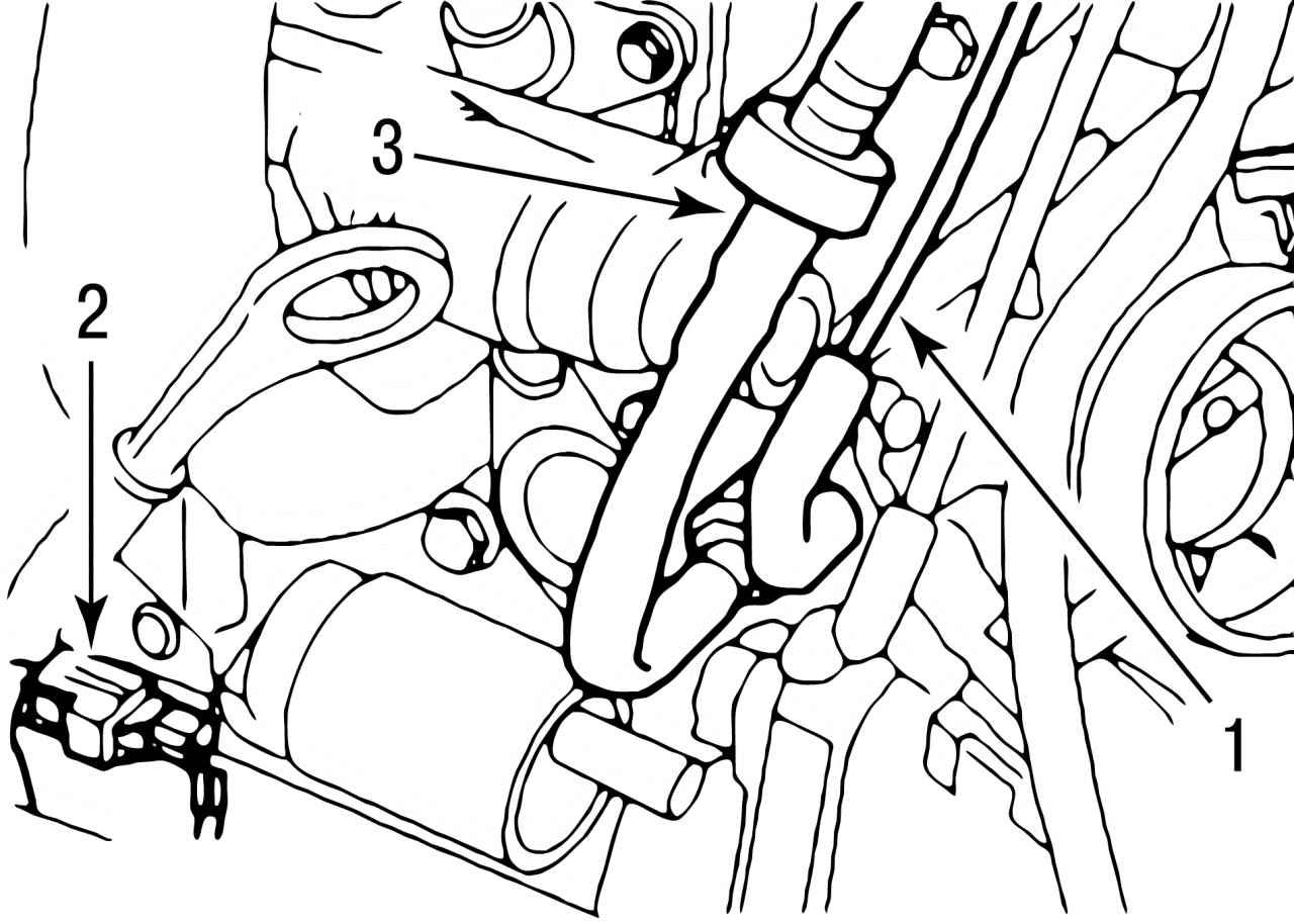 Ford Focus | Снятие двигателя Zetec-SE 1,4