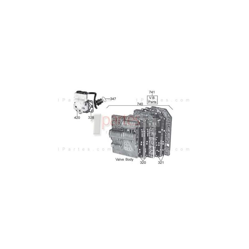 Cuerpo de válvulas (unidad mecatrónica)|Mazda|626|MPV|MX-6