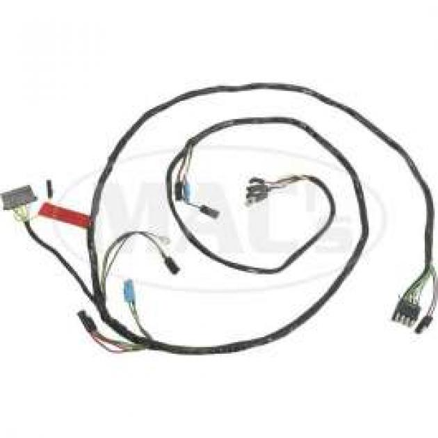 Firewall To Headlamp Socket Wiring, Fairlane, Ranchero