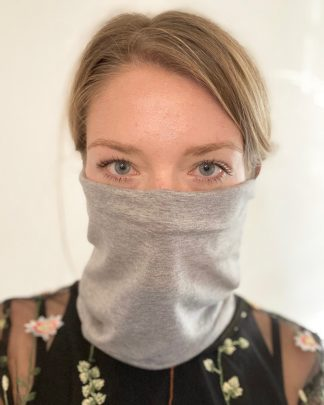 Bamboo and organic cotton neck buff