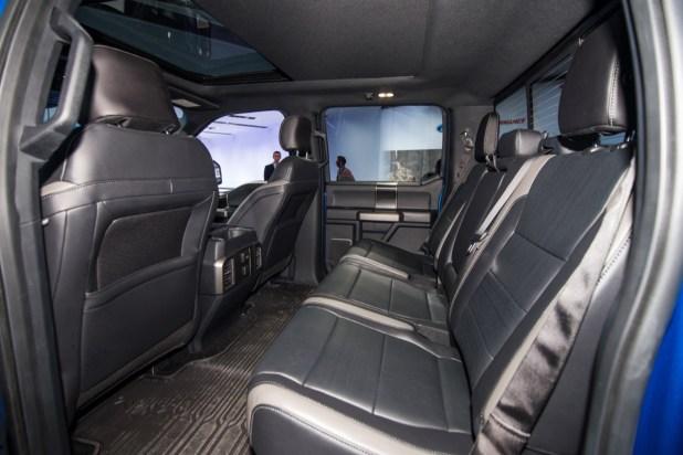 ford f150 raptor interior  Brokeasshomecom