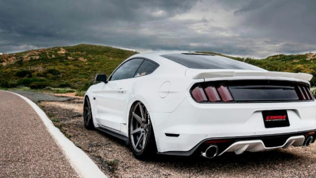 new ford mustang gt exhaust from corsa