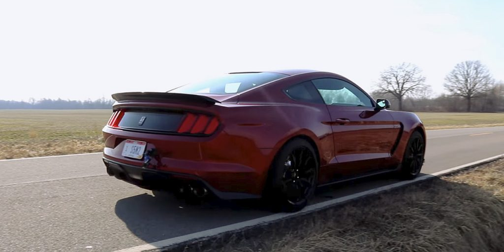 corsa shelby gt350 cat back exhaust