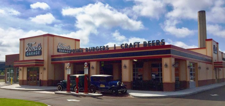 Fords Garage Restaurant Opens In Dearborn  Ford Authority