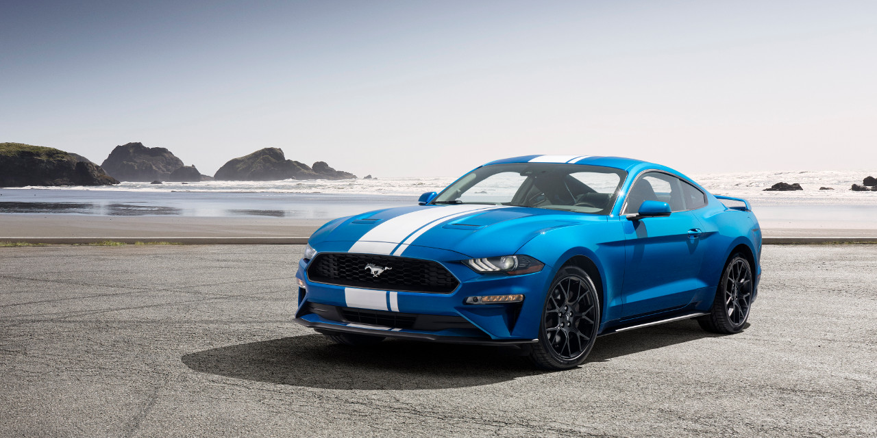 2019 mustang ecoboost offers active