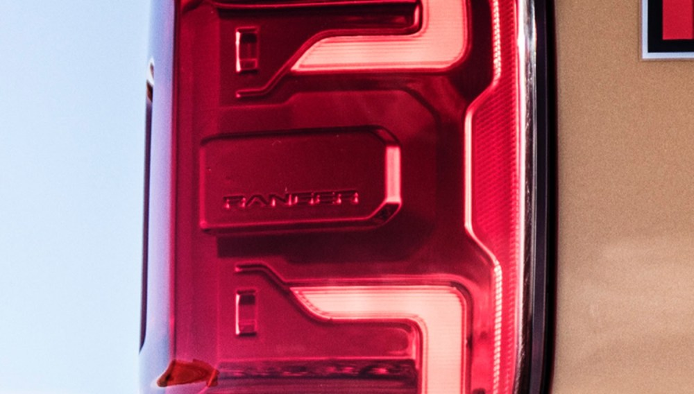 medium resolution of you ll also notice that the lowest portion of the 2019 ford ranger taillights features a radar like logo that s ford s way of reminding us that the truck