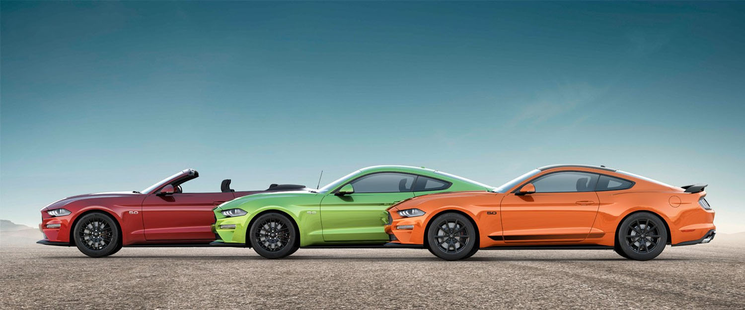 We appreciate how close this mustang gt comes to the german definition of a serious car. 2020 Ford Mustang Exterior Colors