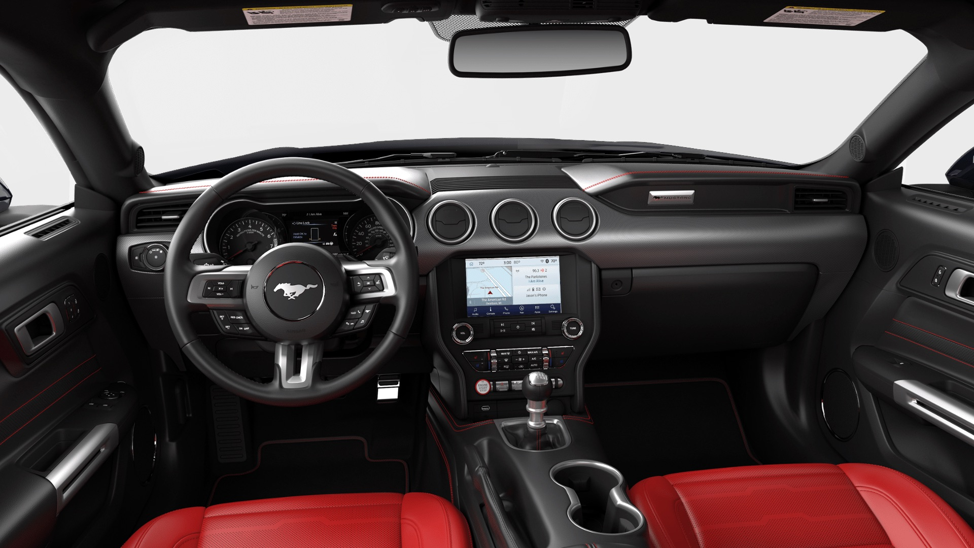 Opting for the high performance package boosts output to about 330 horsepower. 2020 Ford Mustang Interior Colors