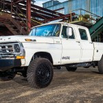 Custom 1972 Ford F 250 Ranch Truck Is Old And New Combined