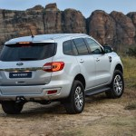 Ford Everest Range Updated With New Model And Led Headlights