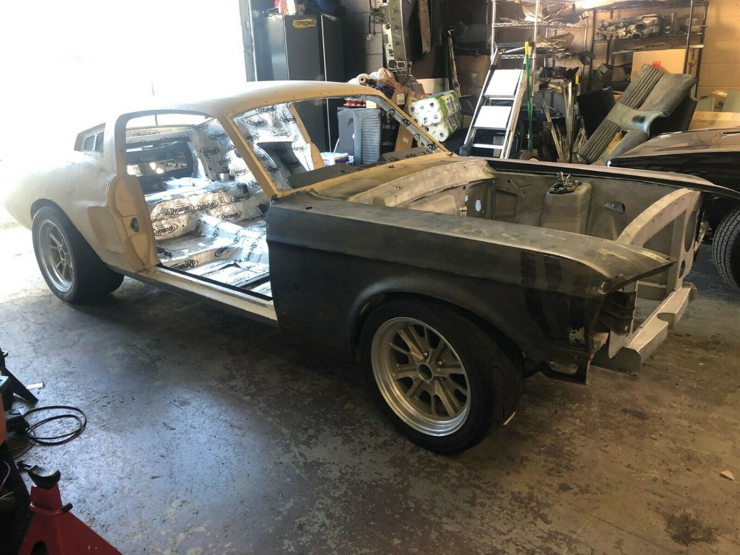 1969 ford mustang m code 351 cold ac *marty report coupe for sale to. In Progress 1967 Ford Mustang Eleanor Clone Project Is Up For Grabs