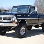 1970 Ford F 250 Highboy 4x4 Under The Hood 360 Fe Ford Daily Trucks