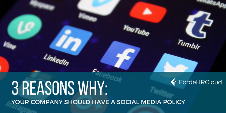 Reasons Why Your Company Should Have A Social Media Policy