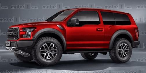 2021 Ford Bronco 4 Door Exterior
