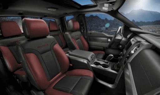 2021 Ford Bronco 4 Door Interior