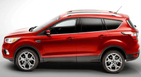 2019 Ford Escape Hybrid Exterior