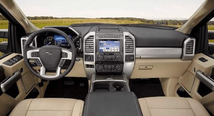 2019 Ford F 250 Interior