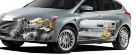 2019 Ford Model E Engine