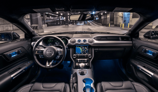 2019 Ford Mustang GT500 Interior