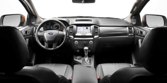 2019 Ranger Ford Interior