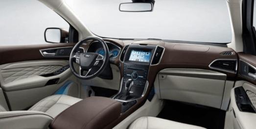 2020 Ford Edge Sport Interior