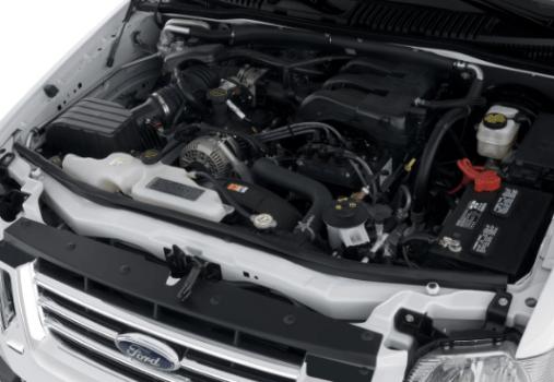 2020 Ford Explorer Engine