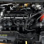 2020 Ford Fiesta Engine