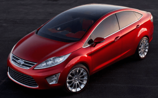 2020 Ford Fiesta Exterior