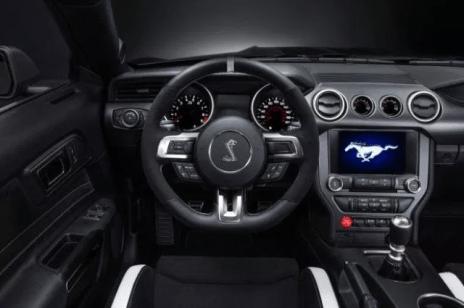 2020 Ford Mustang Cobra Interior